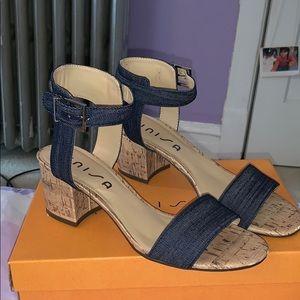 unisa jeans high heels
